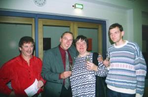 Ehrenmitglieder Horst Löser und Hubert Götz