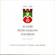 20 Jahre Bezirk Marzahn von Berlin