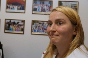 Jüngstes Mitglied Jeanine Schulz.