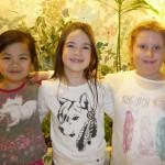 Leonie, Muriel und Anna