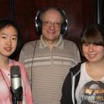 Lisa Y., B. Engling und Beatrice am 15.5.15
