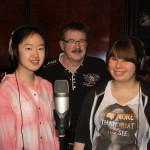 Lisa Y., W. Nitzschke und Beatrice am 15.5.15