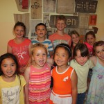 vorn: Amy, Anna, Vietha, Lisa, Emily. hinten: Emina, Marius, Luis, Almira-Kira, Aileen