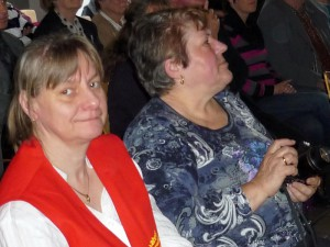 Birgit Scherzer und Rosemarie Petry
