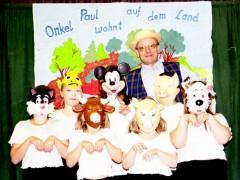 Onkel Paul wohnt auf dem Land